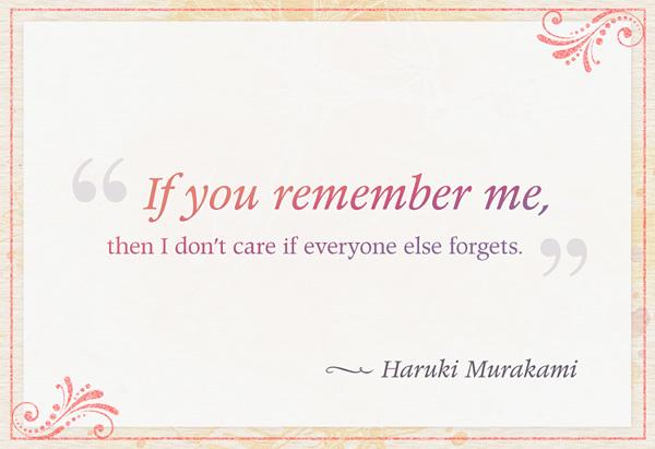 Haruki Murakami's quote #1