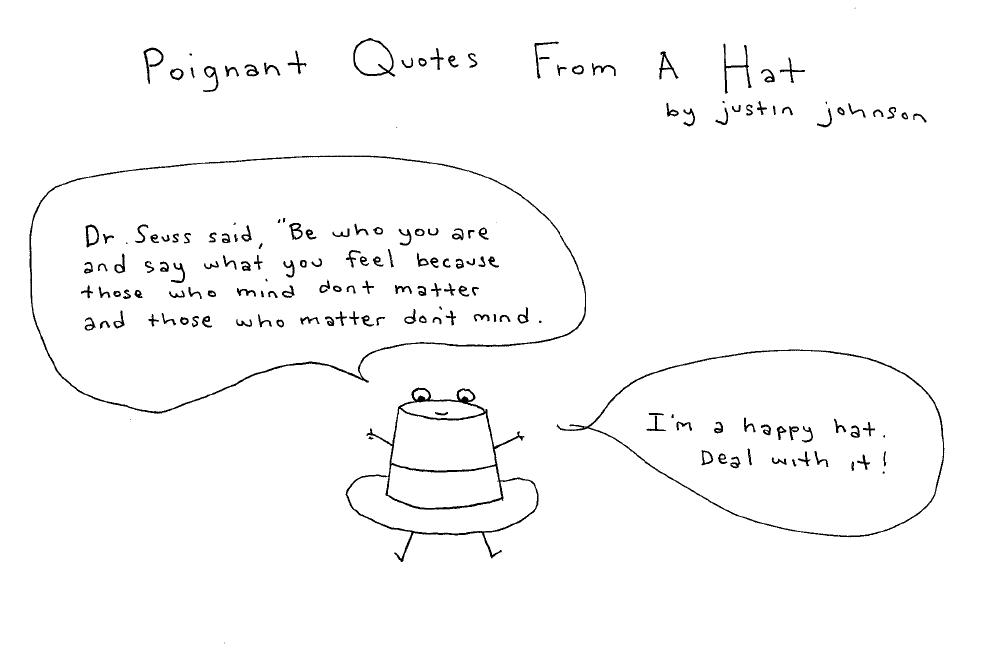 Hat quote #1