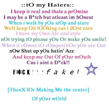 Haters quote #6