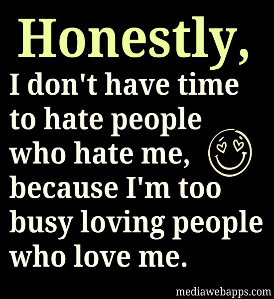 Hating People quote