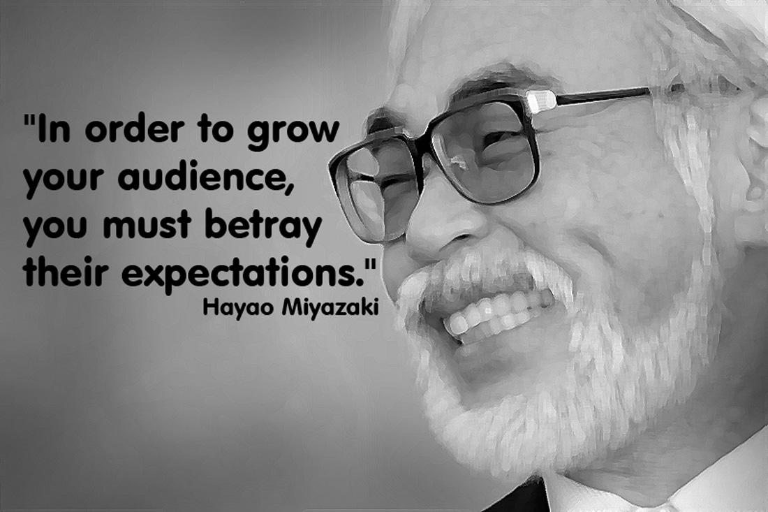 Hayao Miyazaki's quote #2