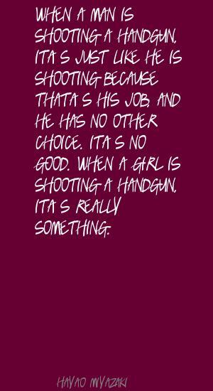Hayao Miyazaki's quote #1