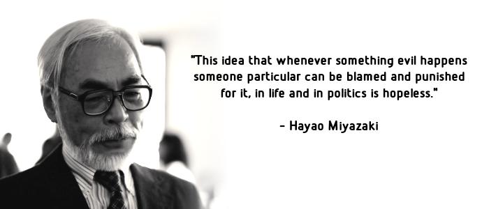 Hayao Miyazaki's quote #3