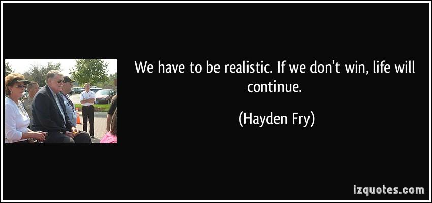 Hayden Fry's quote #6