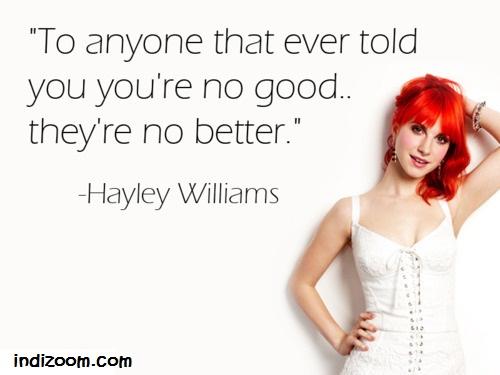 Hayley Williams's quote #1