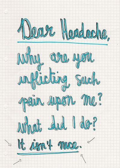 Headache quote #1