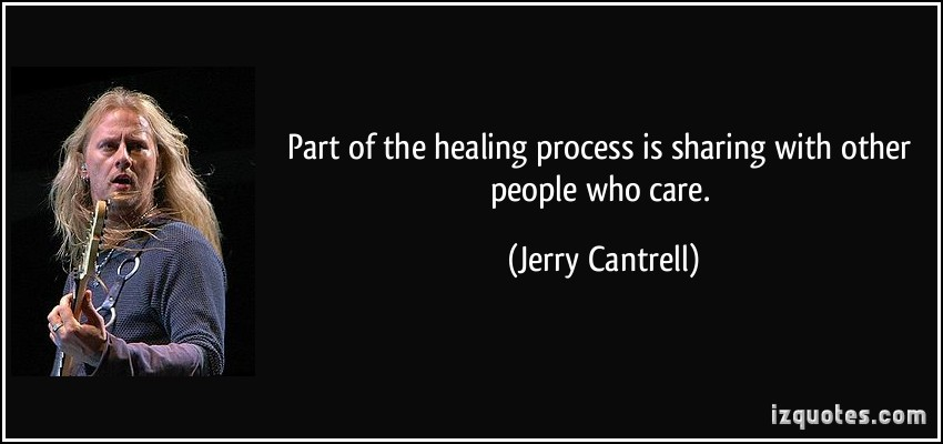 Healing Process quote #1