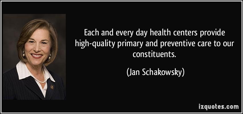 Health Centers quote #1