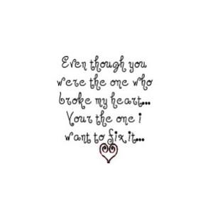 Heart Broken quote #1