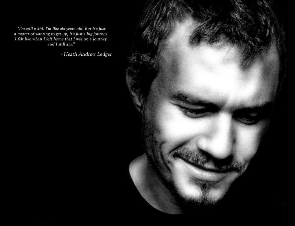 Heath Ledger's quote #7