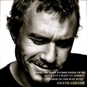 Heath Ledger's quote #8