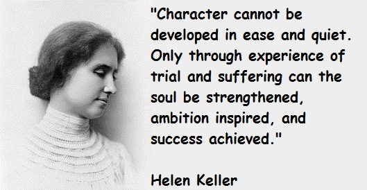 Helen Keller's quote #1