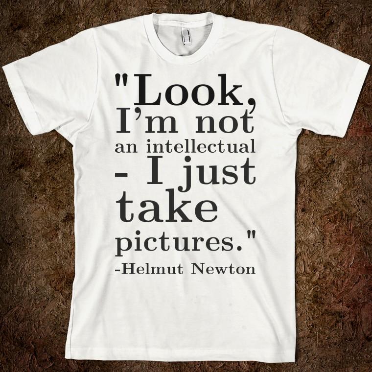 Helmut Newton's quote #1