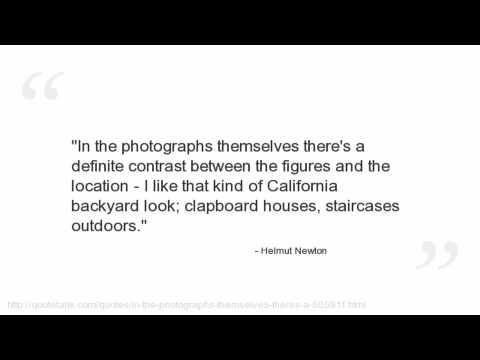 Helmut Newton's quote #6