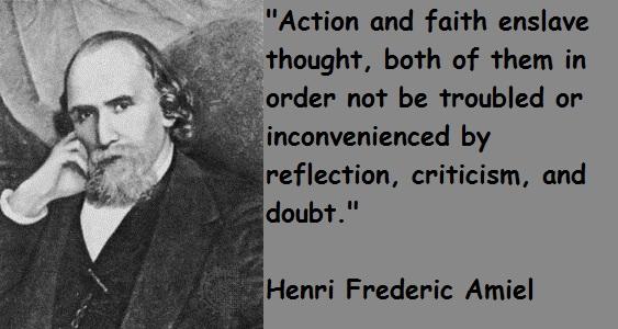 Henri Frederic Amiel's quote #1