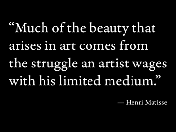 Henri Matisse's quote #1
