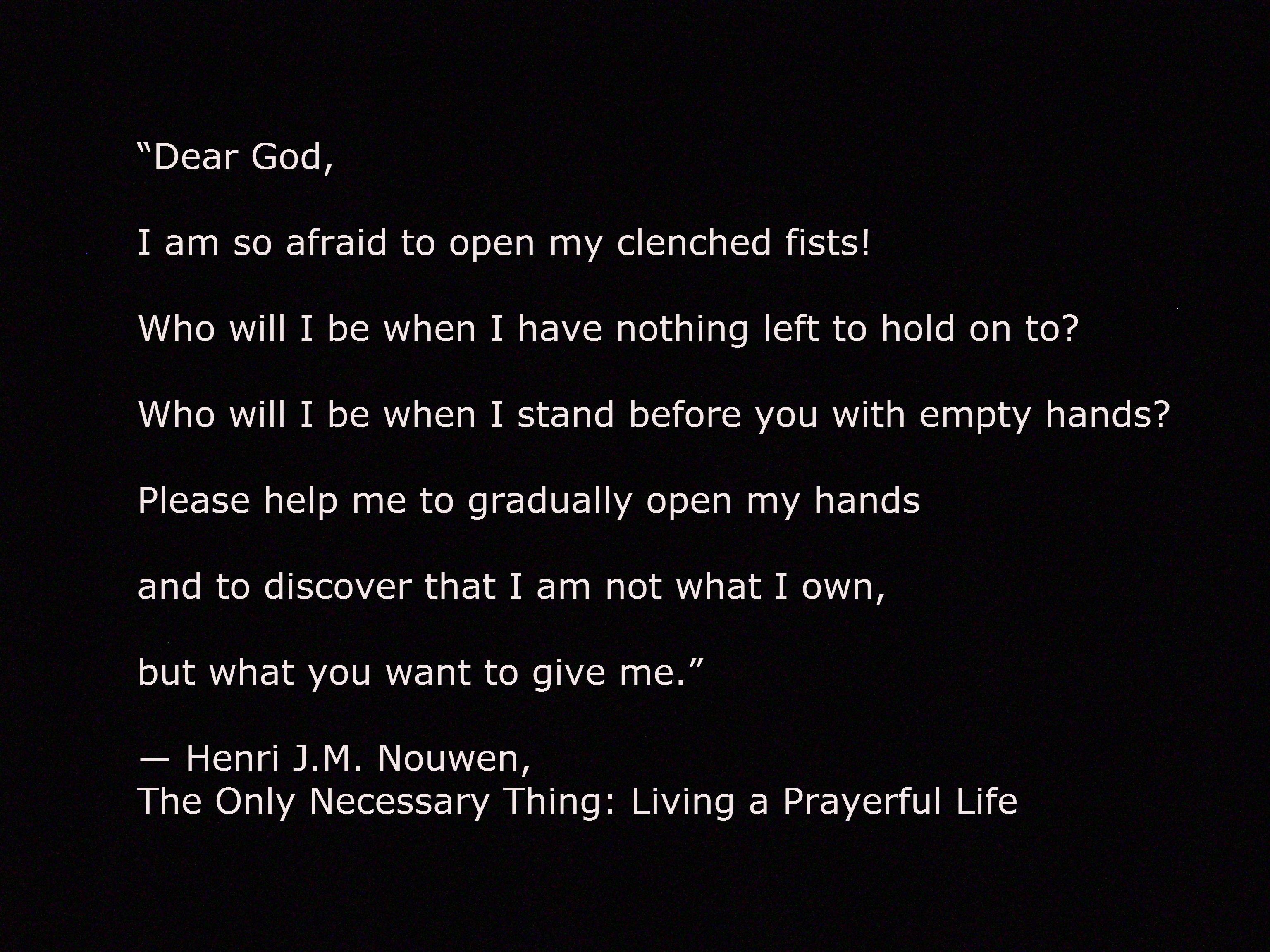 Henri Nouwen's quote #2
