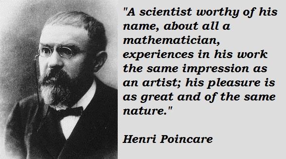 Henri Poincare's quote #2