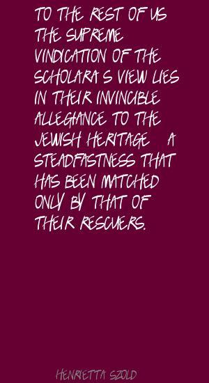 Henrietta Szold's quote #2