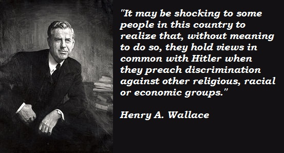 Henry A. Wallace's quote #5