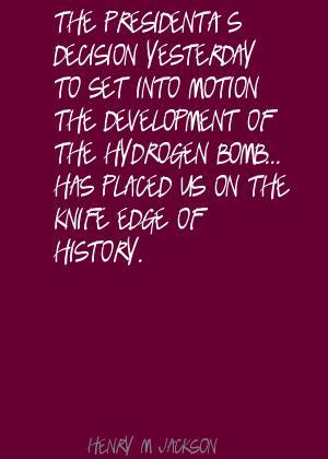 Henry M. Jackson's quote #4