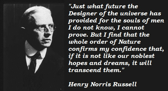 Henry Norris Russell's quote #1