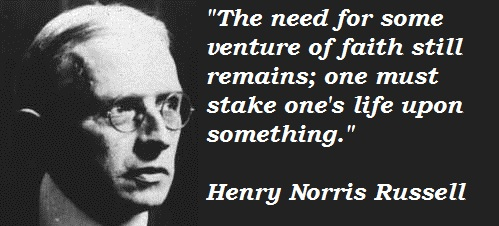 Henry Norris Russell's quote #2