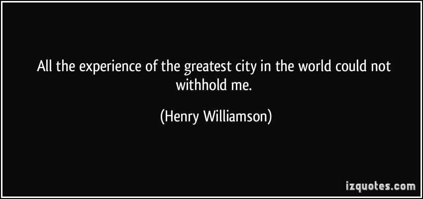 Henry Williamson's quote #1