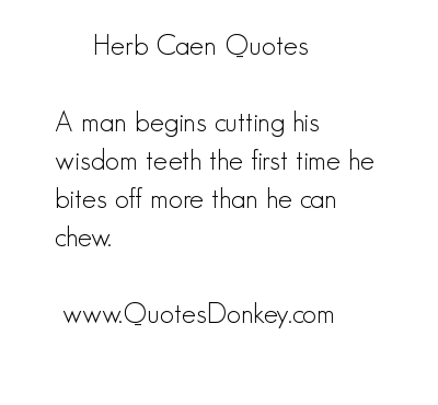 Herb Caen's quote #6