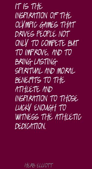 Herb Elliott's quote #3