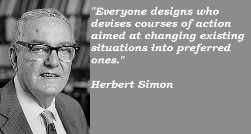 Herbert Simon's quote #1