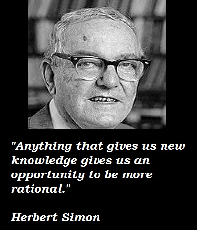 Herbert Simon's quote #3