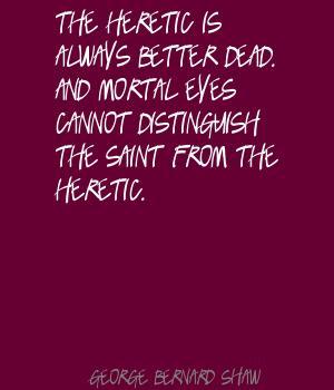 Heretic quote #1