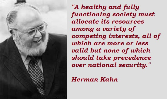 Herman Kahn's quote #5