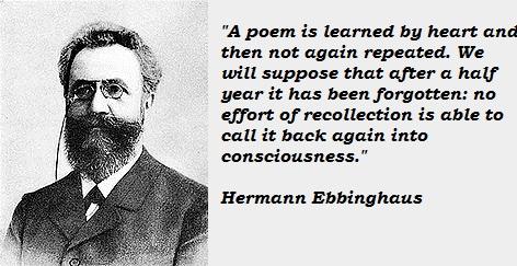Hermann Ebbinghaus's quote #5