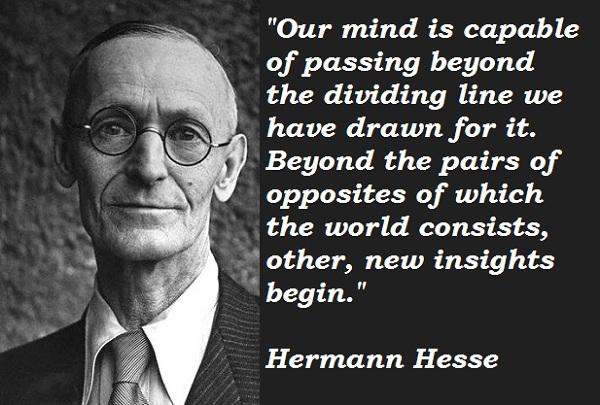 Hermann Hesse's quote #8