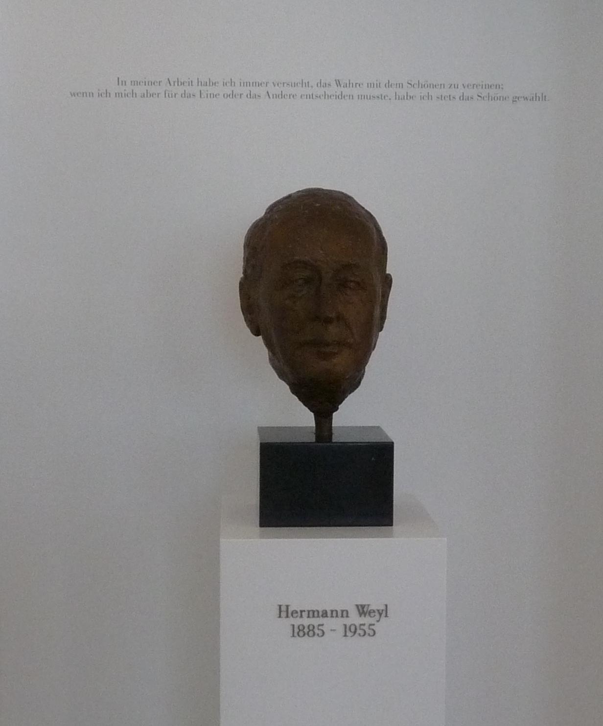 Hermann Weyl's quote #1