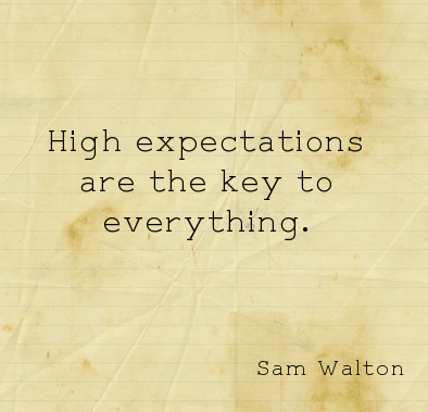 High Expectations quote #1