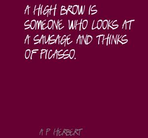 Highbrow quote #1