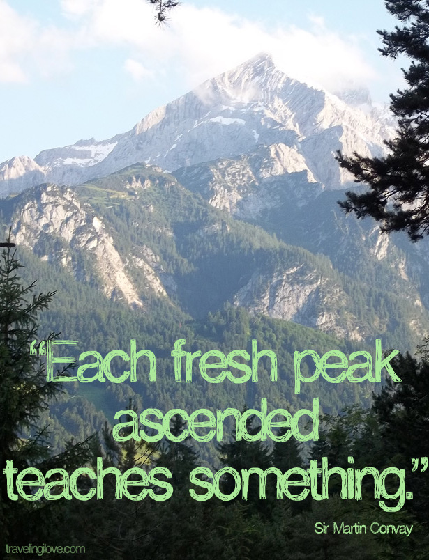 Highest Mountain quote #1