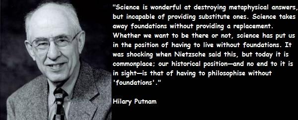 Hilary Putnam's quote #1