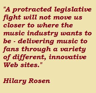 Hilary Rosen's quote #6