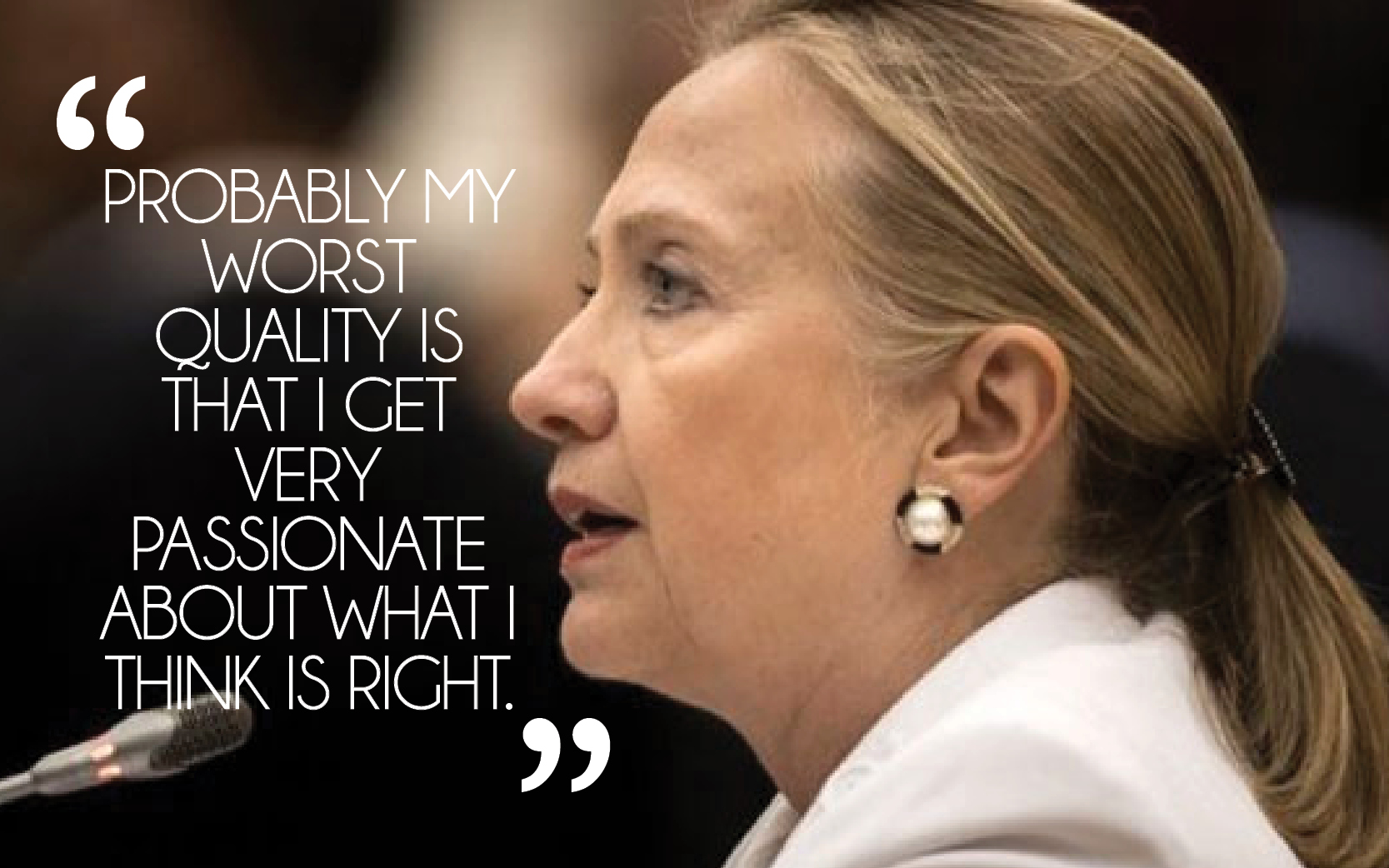 Hillary Clinton quote #1
