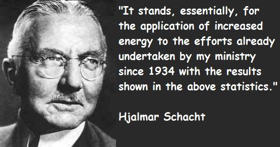 Hjalmar Schacht's quote #2