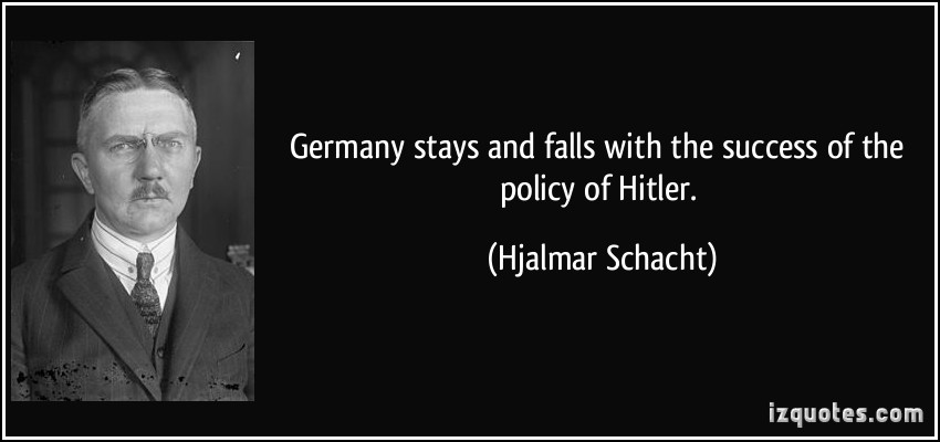 Hjalmar Schacht's quote #4
