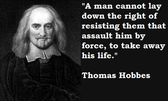 Hobbes quote
