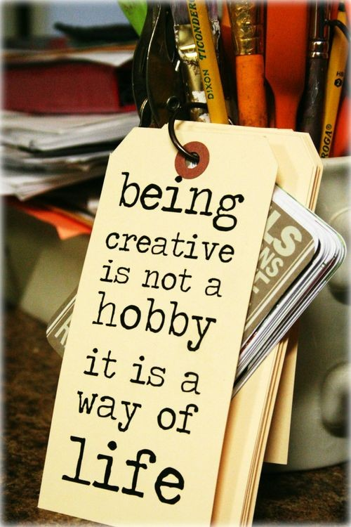 Hobby quote #1