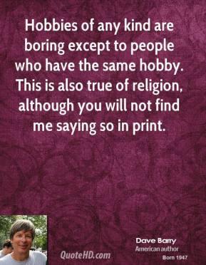 Hobby quote #5