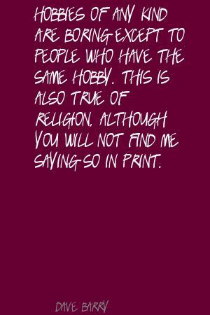 Hobby quote #7