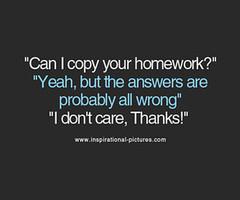Homework quote #6